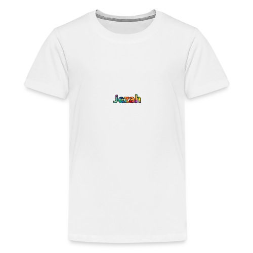 jezah merch text - Teenage Premium T-Shirt