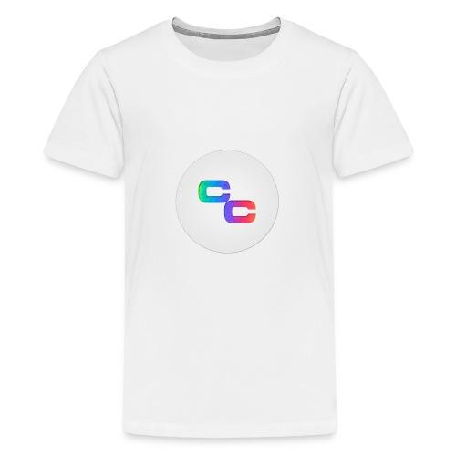 Callum Causer Rainbow - Teenage Premium T-Shirt