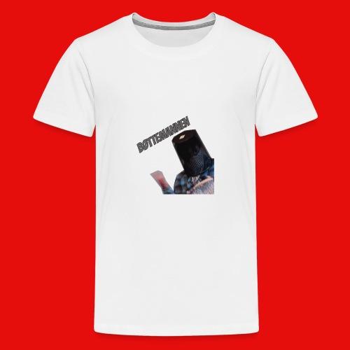 Bøttemannen - Premium T-skjorte for tenåringer