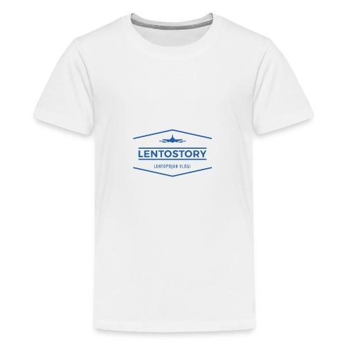 Lentostory - Teinien premium t-paita