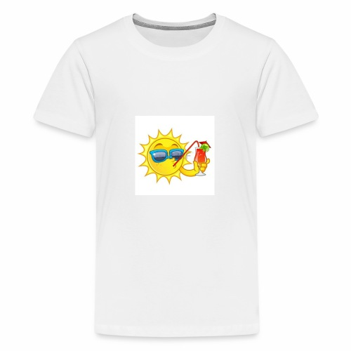 Soleil en vacance - T-shirt Premium Ado