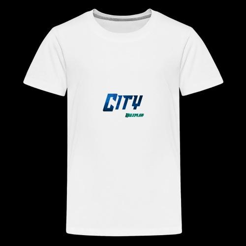 CityRP | Logo - Teenager Premium T-Shirt