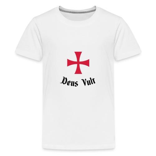 Deus Vult - Teenager Premium T-shirt