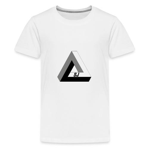 SJ Unlimited triangle - Premium T-skjorte for tenåringer