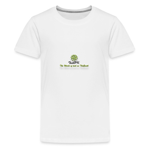 TechPK Branded T-Shirt - Teenage Premium T-Shirt