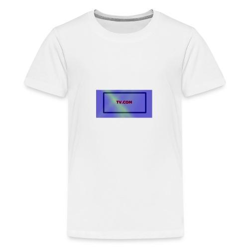 TV.COM - Teinien premium t-paita