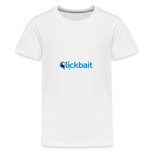 CLICBAIT - Premium T-skjorte for tenåringer