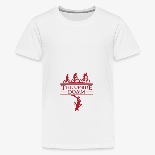 upside down - Koszulka młodzieżowa Premium