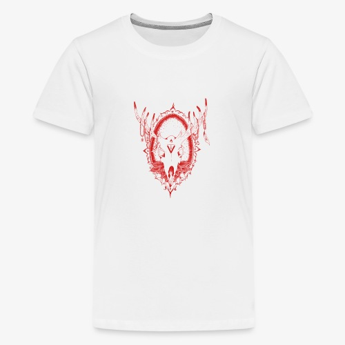 Bambi is red - T-shirt Premium Ado
