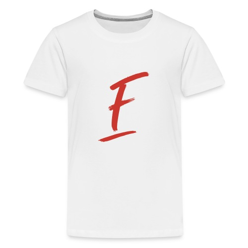 Radio Fugue F Rouge - T-shirt Premium Ado