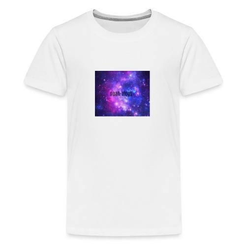 noah-vlogs hettegenser - Premium T-skjorte for tenåringer