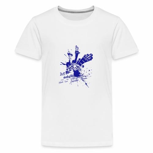 2K17 evolucao - Teenager Premium T-Shirt