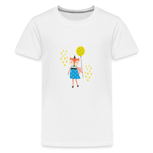 Fuchs - Ballon - Teenager Premium T-Shirt