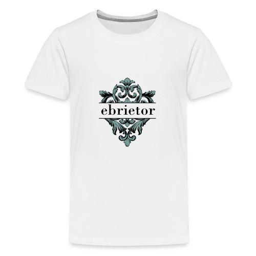 Ebrietor Official Logo - Premium-T-shirt tonåring