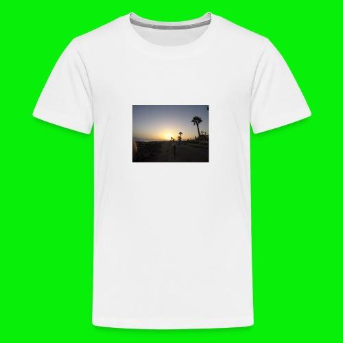 Canary islands tennirefe - Teenage Premium T-Shirt