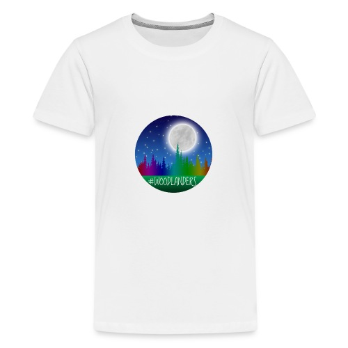 #Woodlander - Teenage Premium T-Shirt