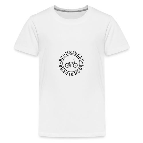 BOOM BIKE LOGO - Teenage Premium T-Shirt
