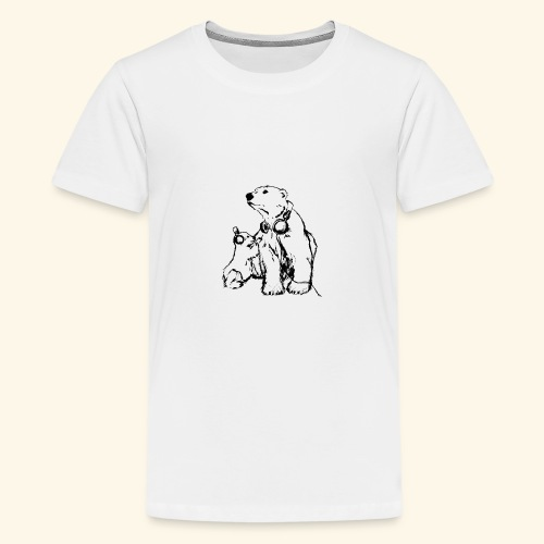 POLAR MUSIC BABY - Teenager Premium T-Shirt