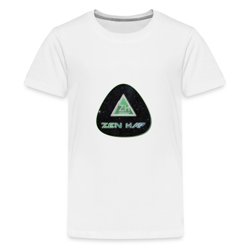 Zen Hap Triangle Hi Res - Teenage Premium T-Shirt