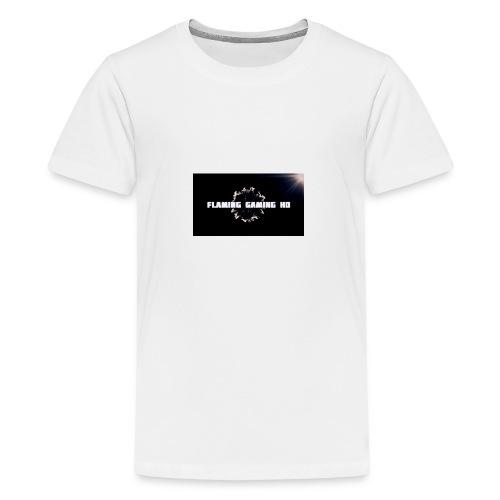 FLAMING GAMING, pre release merch - Teenage Premium T-Shirt