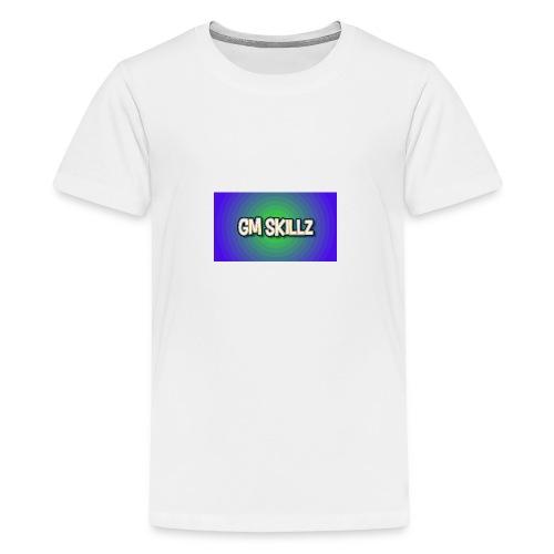 Gm skillz - Premium-T-shirt tonåring