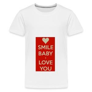 13EA371C 7A76 4027 BF26 429EE3809D0D - Premium-T-shirt tonåring