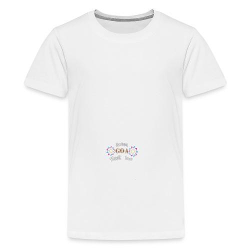 Goa love Damen - Teenager Premium T-Shirt