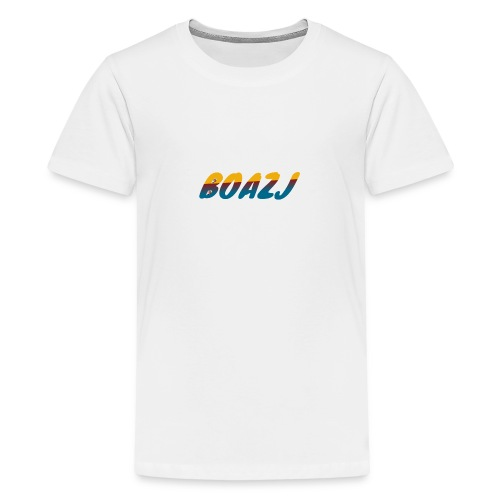 BoazJ Logo - Teenager Premium T-shirt