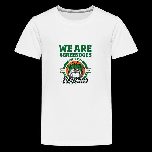 SCA CUSSET WE ARE GREEN - T-shirt Premium Ado