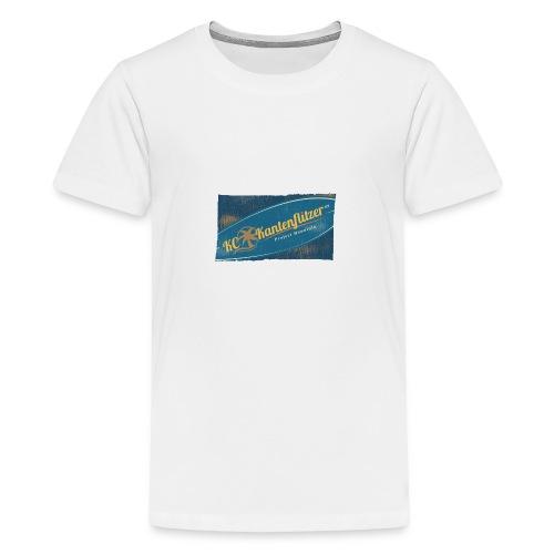 Kantenflitzer Beach - Teenager Premium T-Shirt