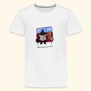 Socks and shares - Teenage Premium T-Shirt