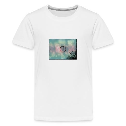 Llama Coin - Teenage Premium T-Shirt