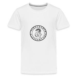 Logo transparent - Teenager Premium T-Shirt