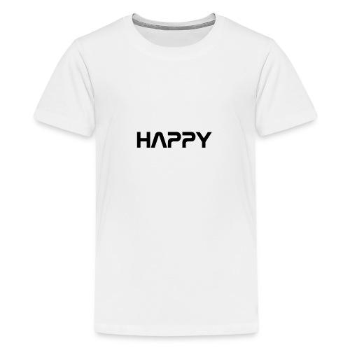 Happy - Teenager Premium T-Shirt