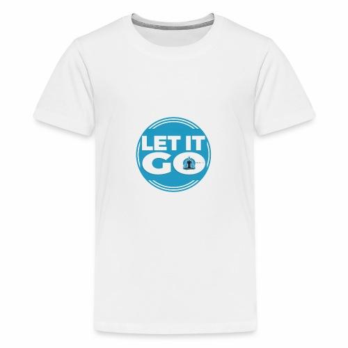 Let It Go // Meditare - Maglietta Premium per ragazzi