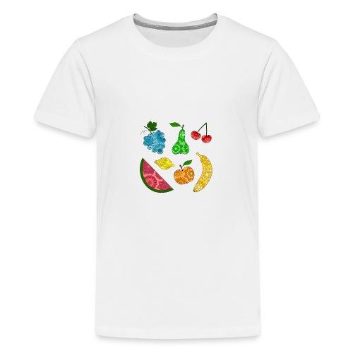 Obstsalat - Teenager Premium T-Shirt
