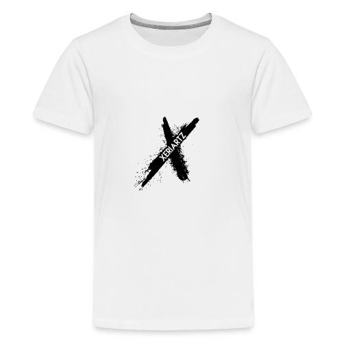 Offical XeriArtz Merch Logo - Teenager Premium T-Shirt
