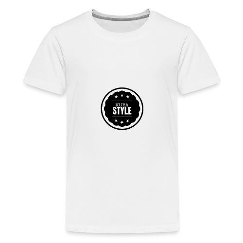 LOGO - KUBA STYLE - Koszulka młodzieżowa Premium