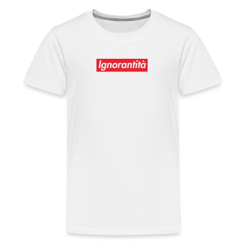 Ignorantità Arena Ignorante - Maglietta Premium per ragazzi