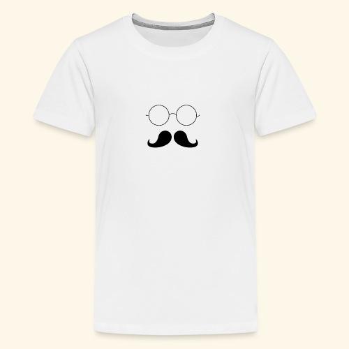 Moustachu - T-shirt Premium Ado