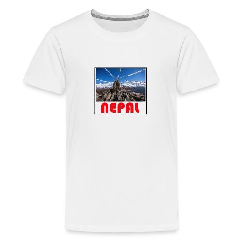 Nepal T-shirt - Teenage Premium T-Shirt