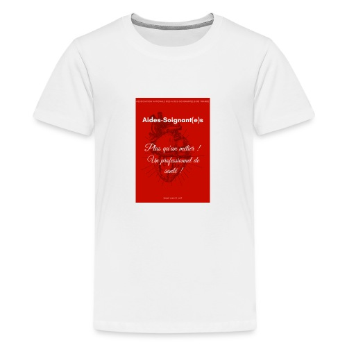 Association Nationale des aides soignant e s de fr - T-shirt Premium Ado