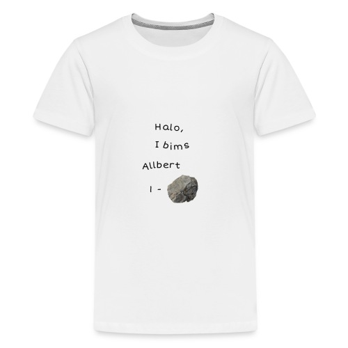 Albert Einstein - Teenager Premium T-Shirt