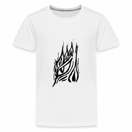 Drachenwächter - schwarz - Teenager Premium T-Shirt