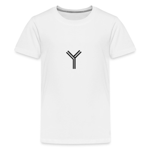 YTEE - Premium-T-shirt tonåring