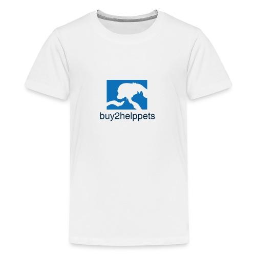 Kaufen und Helfen - Teenager Premium T-Shirt