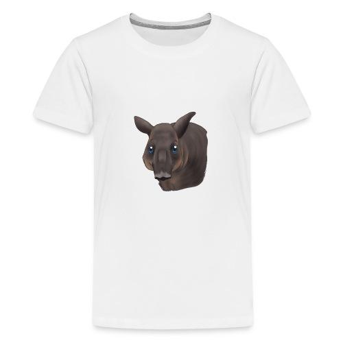 Tapir Portrait - Teenager Premium T-Shirt