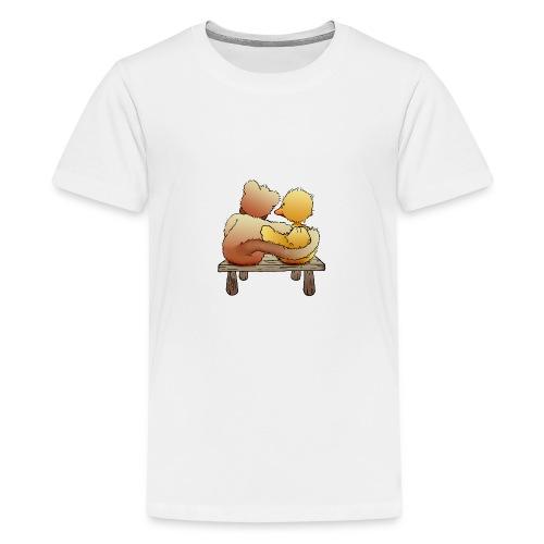 Freunde für immer - Teenager Premium T-Shirt