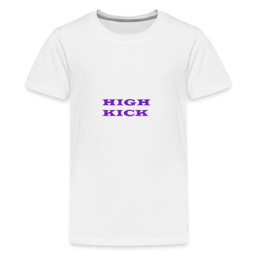 HIGH KICK HOODIE [LIMITED EDITION] - Teenage Premium T-Shirt