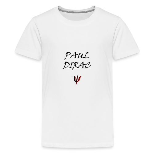 Paul_Dirac_Spinor_-1-png - Maglietta Premium per ragazzi